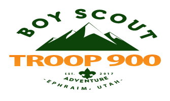 Boy Scouts of America Troop 900 | Utah National Parks Council | The Atomic Watermelons Logo